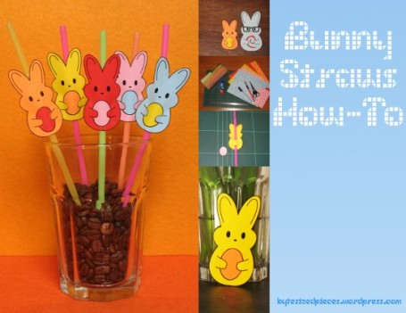 bunny straws how-to
